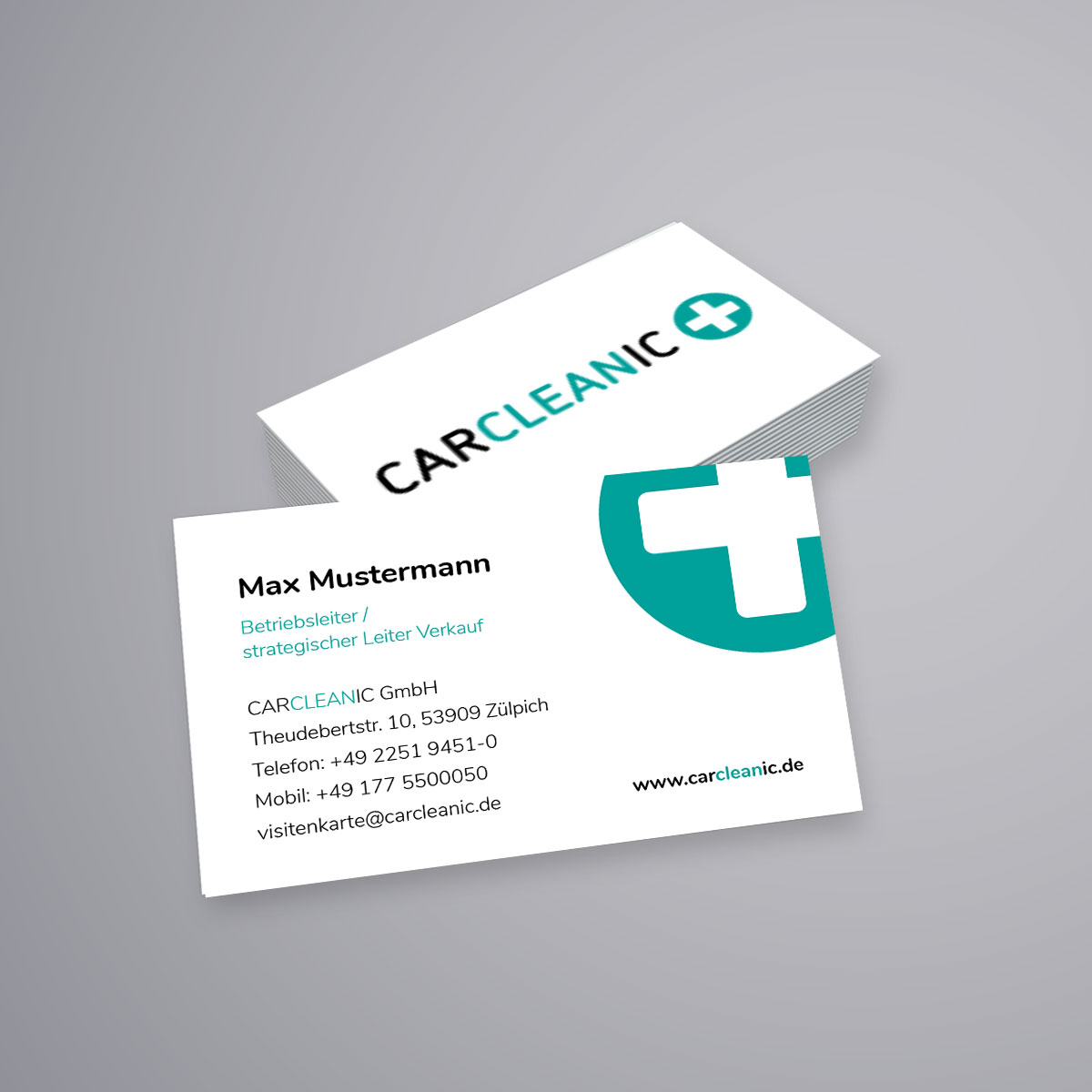 Carcleanic Visitenkarten